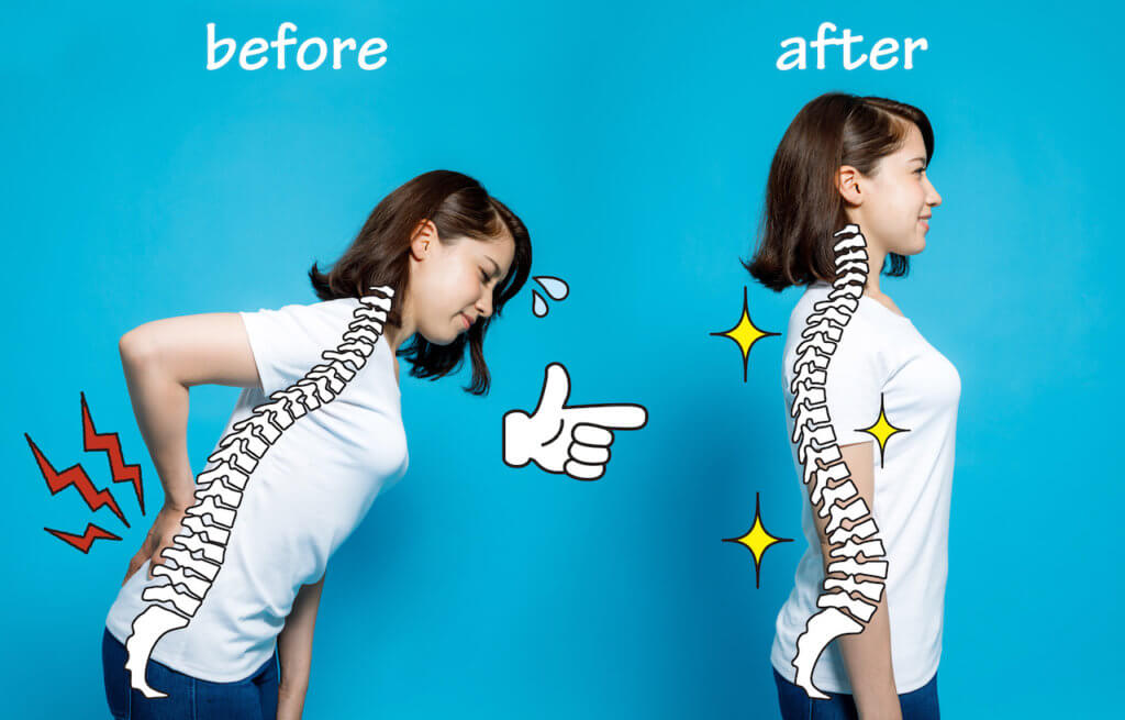 The Top 5 Ways Proper Posture Can Help Alleviate Back Pain